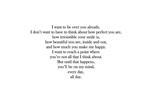 I Cant Get Over You Quotes. QuotesGram