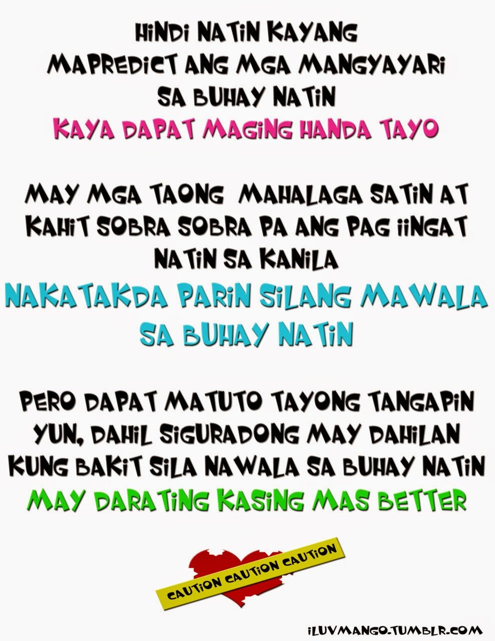 Tagalog Quotes About Broken. QuotesGram