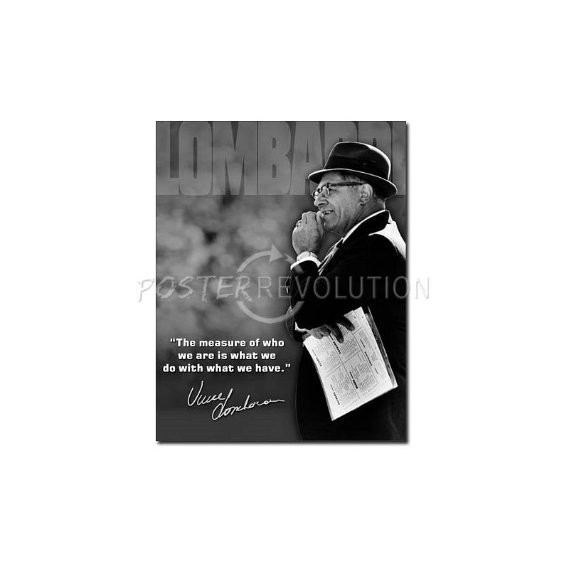 Lombardi Quotes: Vince Lombardi Quotes Poster. QuotesGram