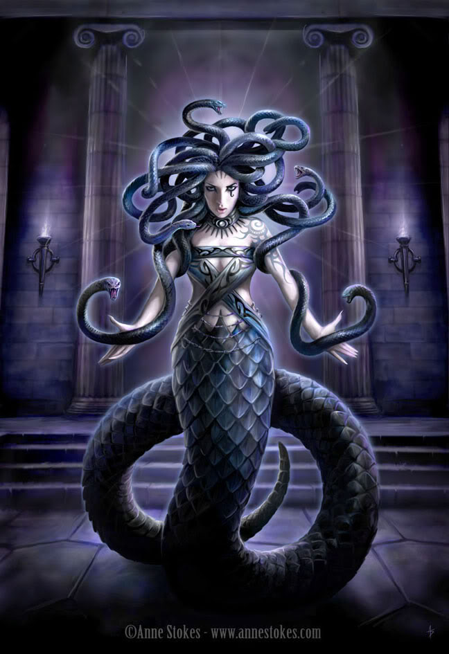 Medusa - She was actually the victim; the wronged one who ... |Greek Mythical Creatures Medusa