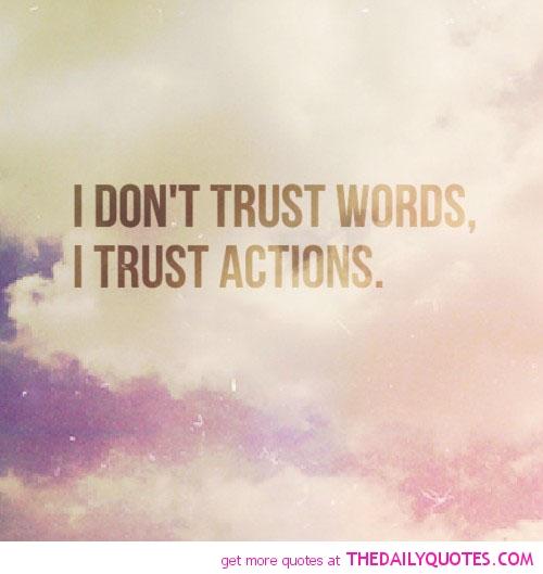 Life Trust Quotes: Trust Life Quotes. QuotesGram