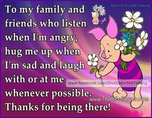 Thank You For Being There For Me Quotes. QuotesGram