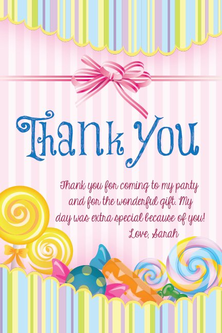 Sweet Treat Thank You Quotes Quotesgram