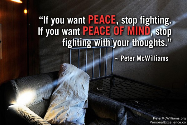 Need Peace Of Mind Quotes. QuotesGram