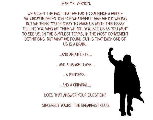 Breakfast Club Movie Quotes. QuotesGram  |Breakfast Club Quotes