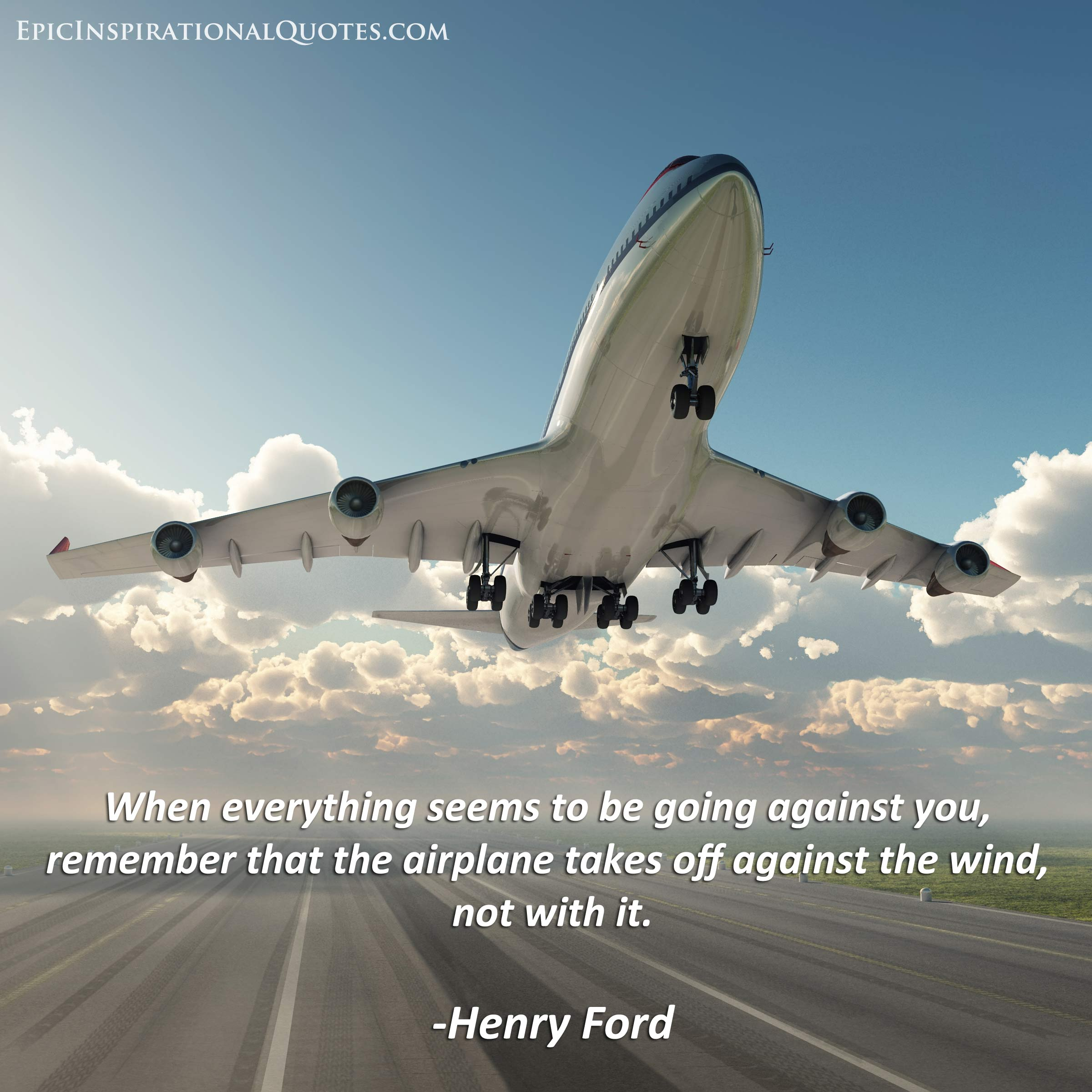 Bill Utter Ford >> Inspirational Quotes About Airplanes. QuotesGram