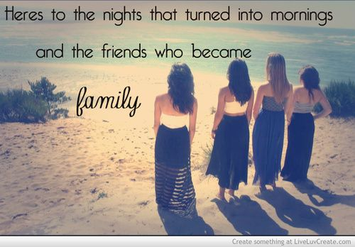 Friends Become Lovers Quotes: Friends That Turn Into Family Quotes. QuotesGram