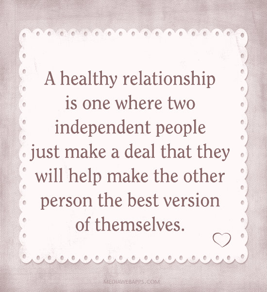 5 Ways To Build Any Relationship >> Healthy Relationship Quotes. QuotesGram