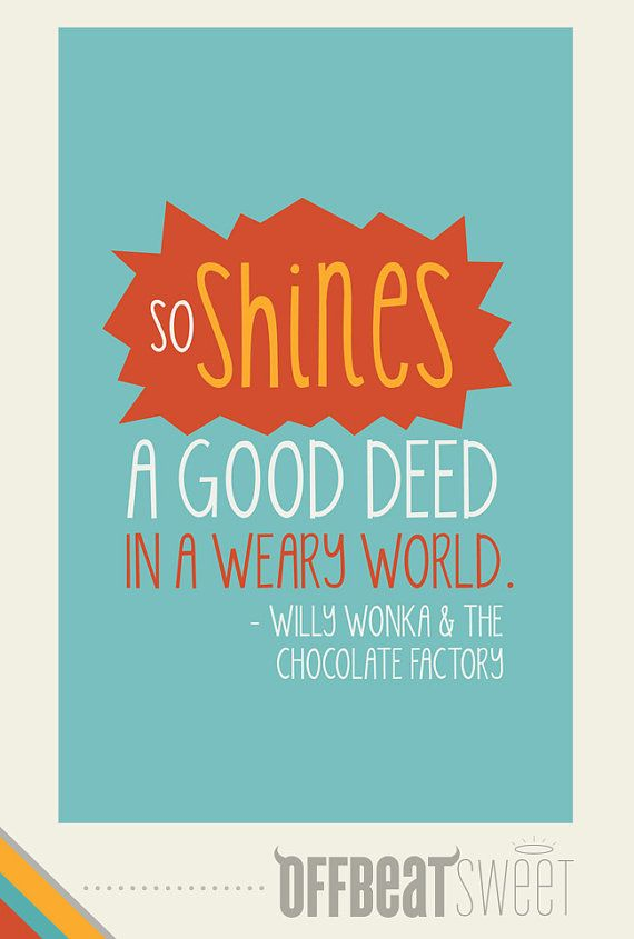 Willy Wonka Quotes Poster. QuotesGram
