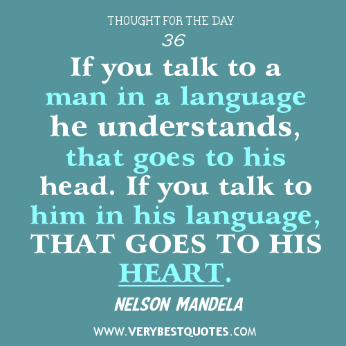 Quotes About Language And Communication. QuotesGram