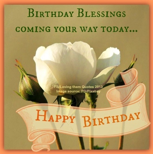 Happy Birthday Blessing Quotes Images