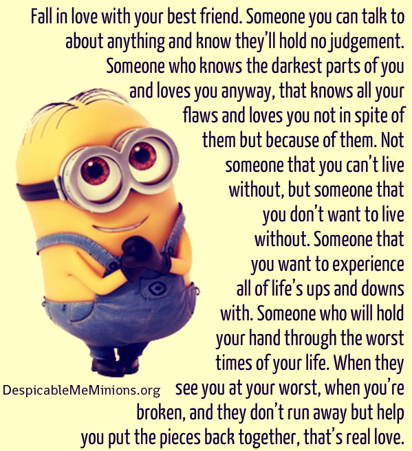 minion best friend quotes quotesgram