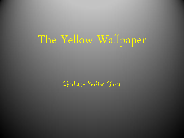 The Yellow Wallpaper Feminist Quotes. QuotesGram