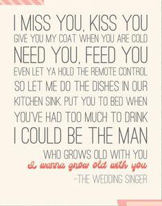grow old with you lyrics - slubne-suknie.info