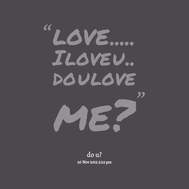 Love U: I Love U Quotes. QuotesGram