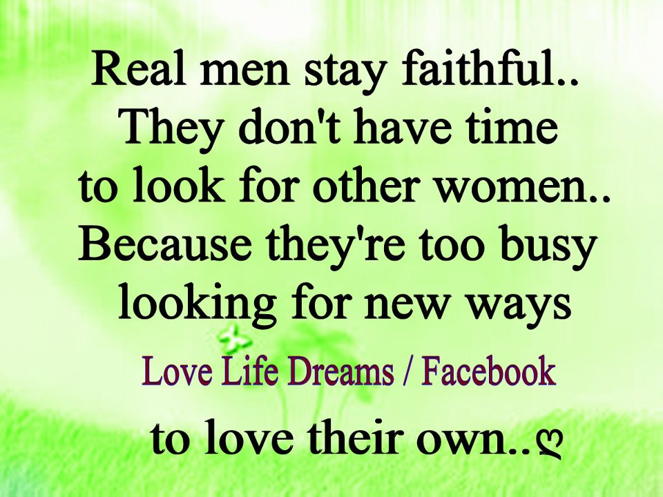 quotes about a faithful man quotesgram