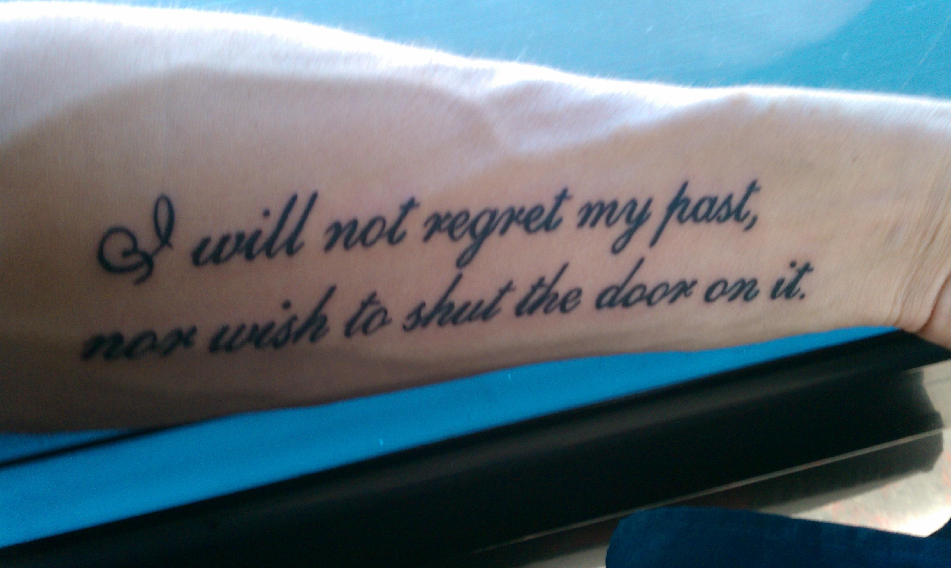 Tattoo Quotes About Addiction. QuotesGram