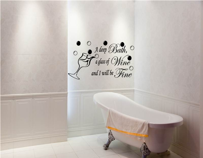 Bathroom Wall Art Quotes. QuotesGram
