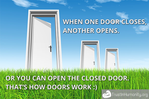 Funny Quotes About Closed Doors. QuotesGram