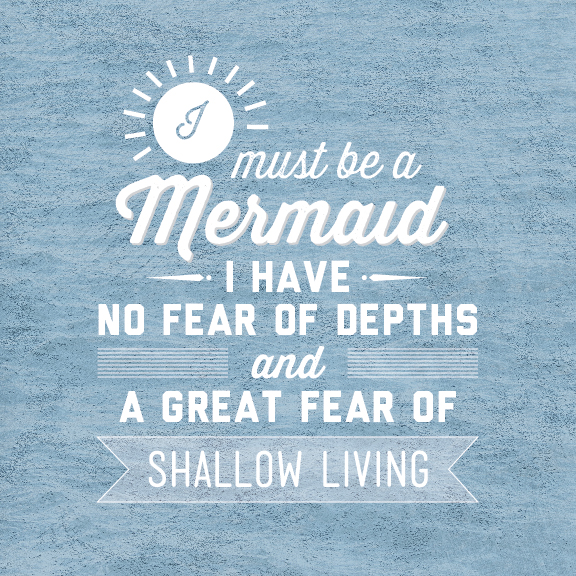 Mermaid Sayings And Quotes Quotesgram