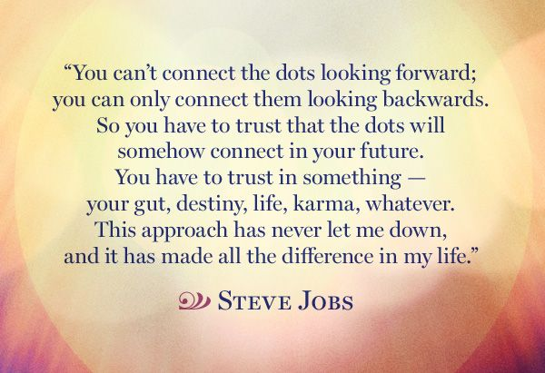 Connecting Dots And Quotes About Life. QuotesGram