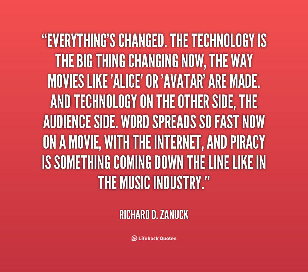 Quotes On Technology: Technology Quotes About Change. QuotesGram