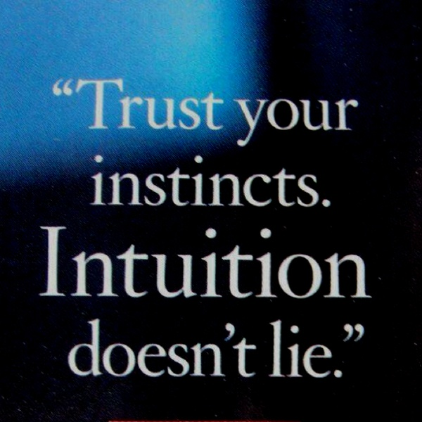 Womens Intuition Quotes Quotesgram