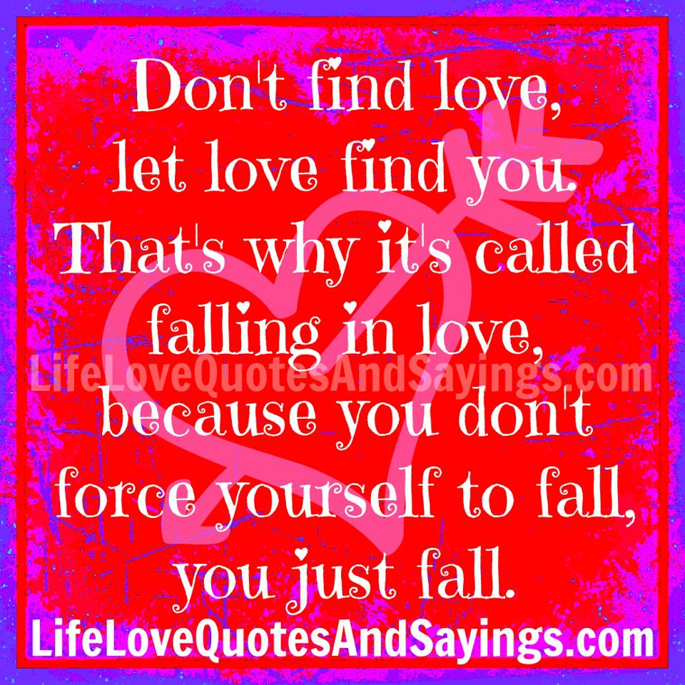 Dont Fall In Love With Everyone You Meet Quotes, Quotations & Sayings 2018