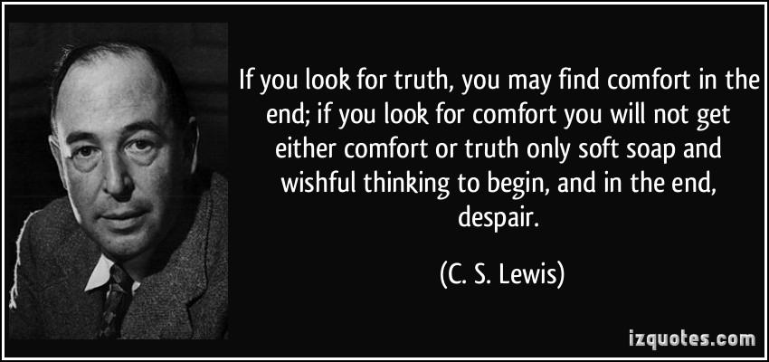 Cs Lewis Quotes On Comfort. QuotesGram
