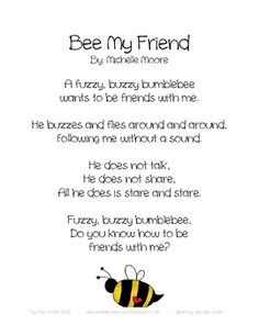 Short Friend Poems For Kids