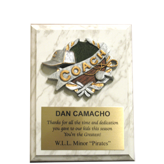 Thank You Coach Plaque Wording Pictures to Pin on ...