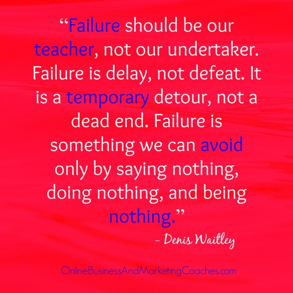 Inspirational Quotes About Failure: Denis Waitley Quotes Inspirational. QuotesGram