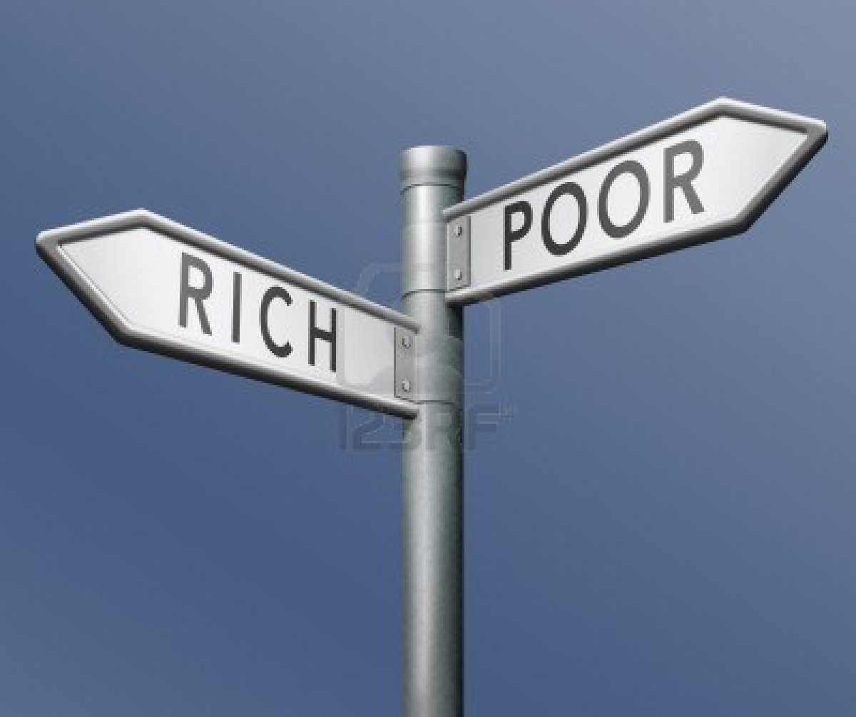 how to become rich from poor
