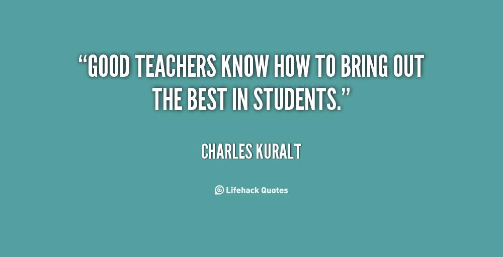 Nice Teacher Quotes. QuotesGram