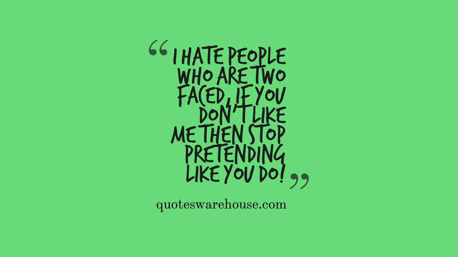 Friends Quotes: Two Faced Backstabbing Friends Quotes. QuotesGram