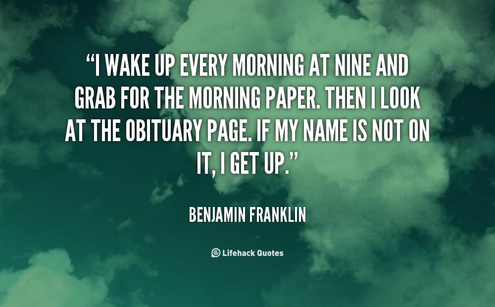 Wake-Up Quotes. QuotesGram