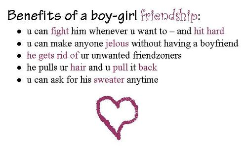 Quotes About Friendship Between Boy And Girl. QuotesGram