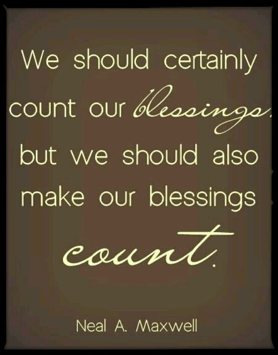 inspirational quotes about blessings quotesgram
