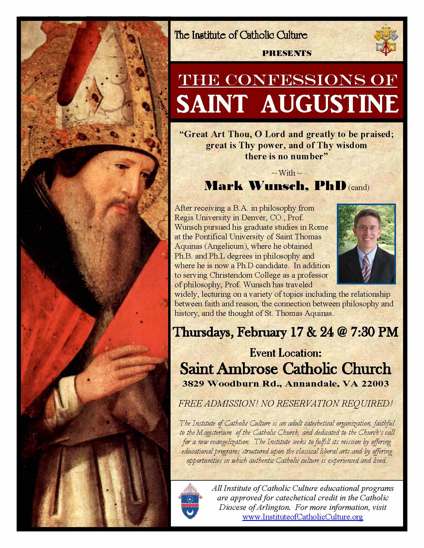 the confessions of saint augustine pdf