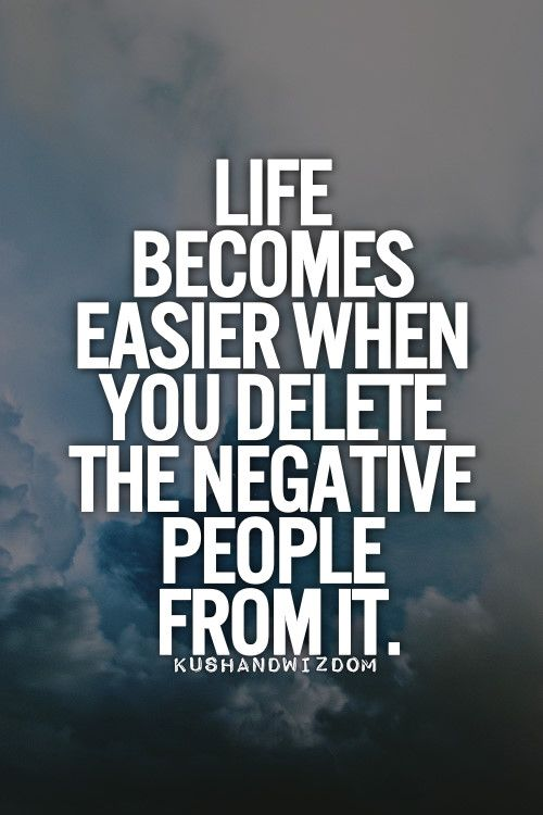 Removing Negative People Quotes: Remove Negative People Quotes. QuotesGram