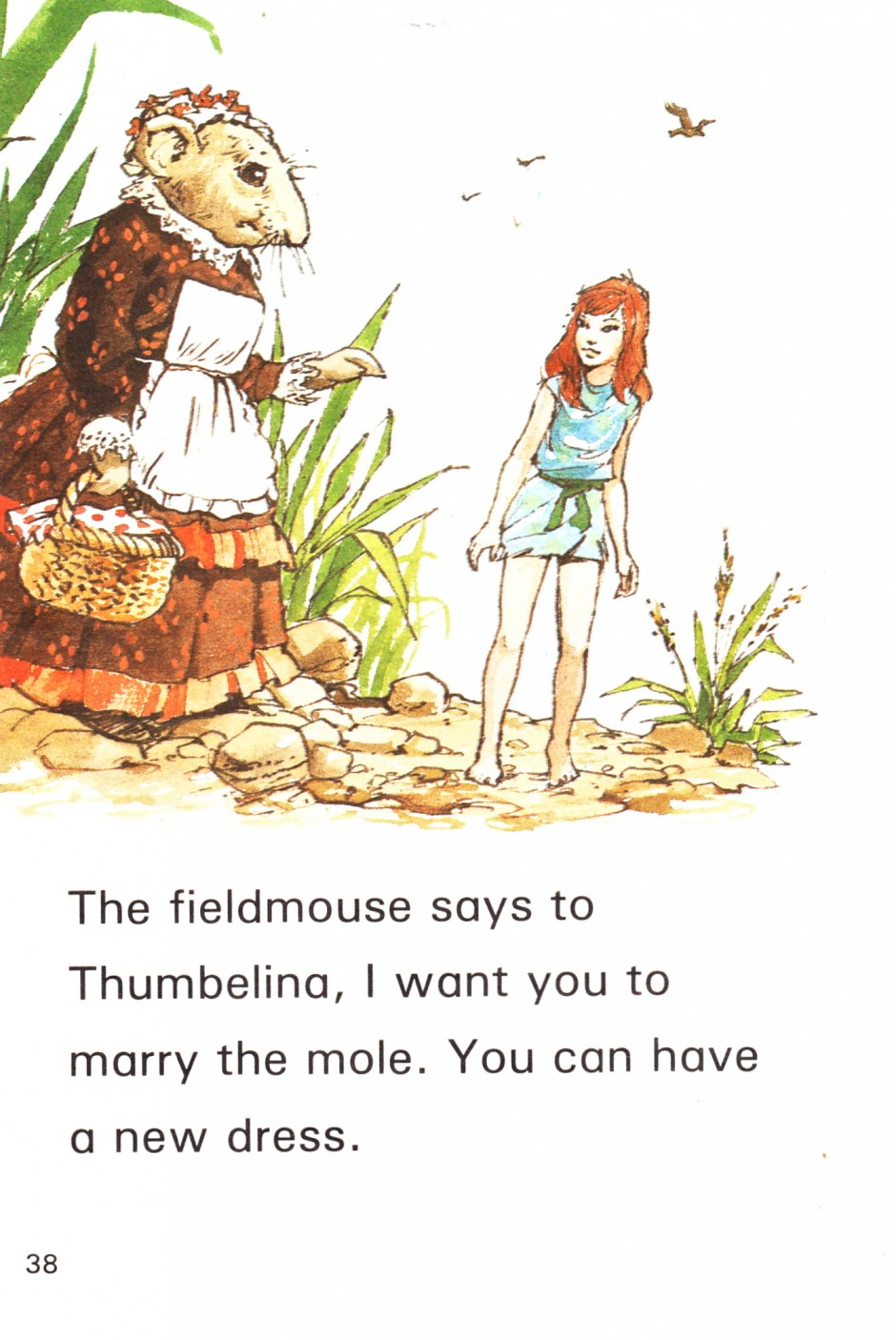 Book report of thumbelina