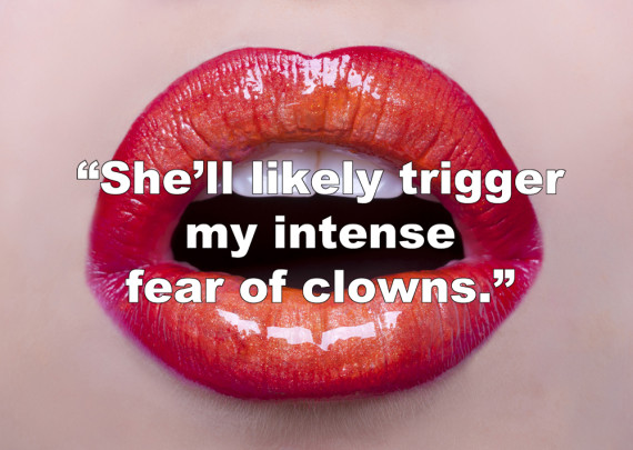 Red lipstick quotes funny