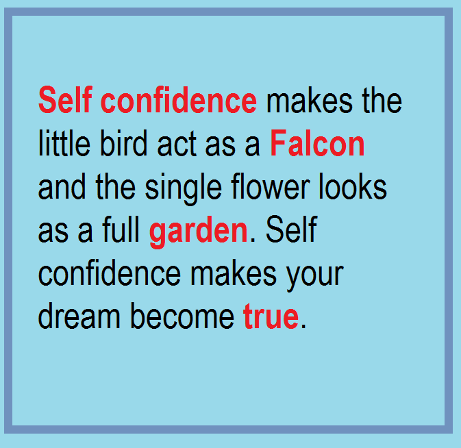 Self Confidence Related Quotes: Self Confidence Quotes And Sayings. QuotesGram