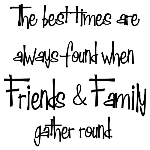 Cute Quotes About Fami...