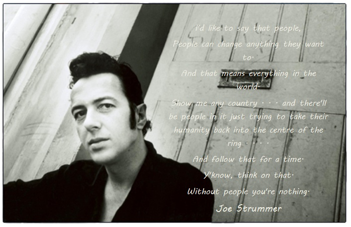 Joe Strummer Quotes. QuotesGram
