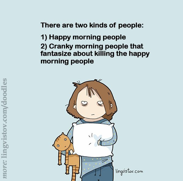 Funny Quotes About Stupid People: Funny Quotes About Morning People. QuotesGram