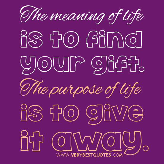 Meaning Of Life Quotes. QuotesGram