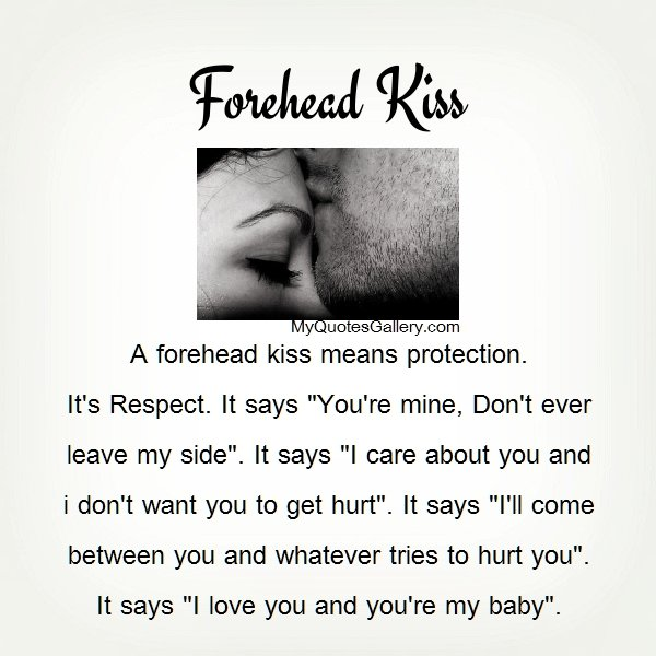 Movie Quotes About Kissing: Forehead Kiss Quotes. QuotesGram