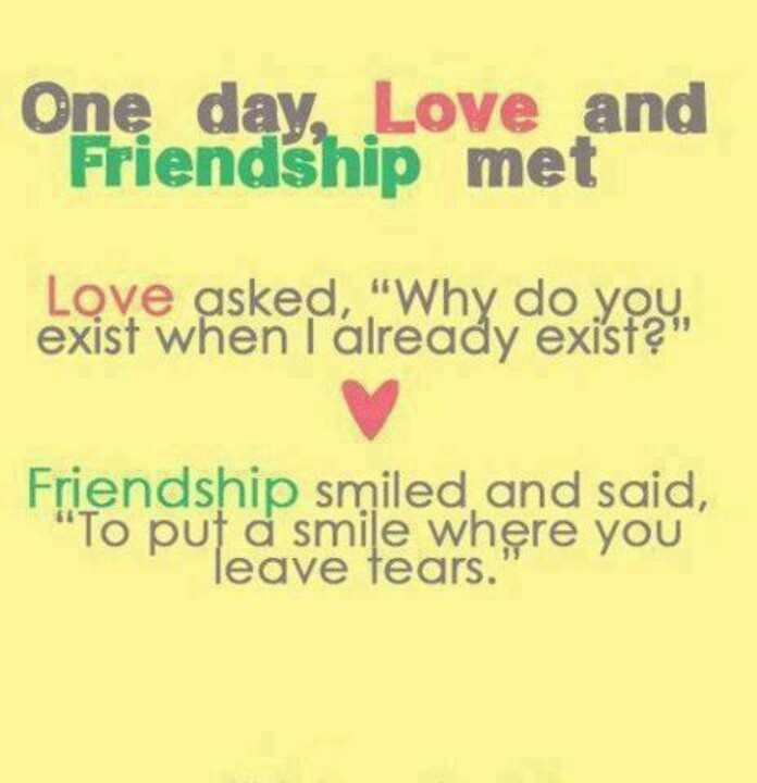 Love And Friendship Famous Quotes. QuotesGram