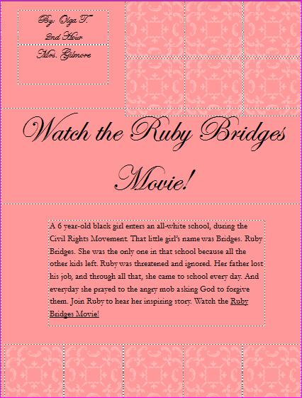 Ruby Bridges Quotes Quotesgram